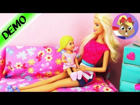 Barbie Verhaal - Jana doet zich pijn en moet naar de kinderarts Dr. Zonnenschijn voor onderzoek