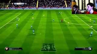 Frantix Plays: FIFA    game 7   K.V.C Westerlo Vs Sevilla F.C  