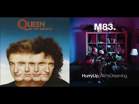 I Want Midnight City  Queen vs M83 Mashup