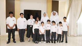 AMIS management and students visited the Ministry of Education and Higher Education