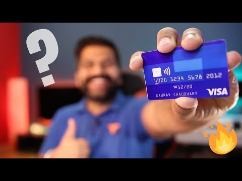 Contactless Visa Card - Tap To Pay - Explained!!! 💳