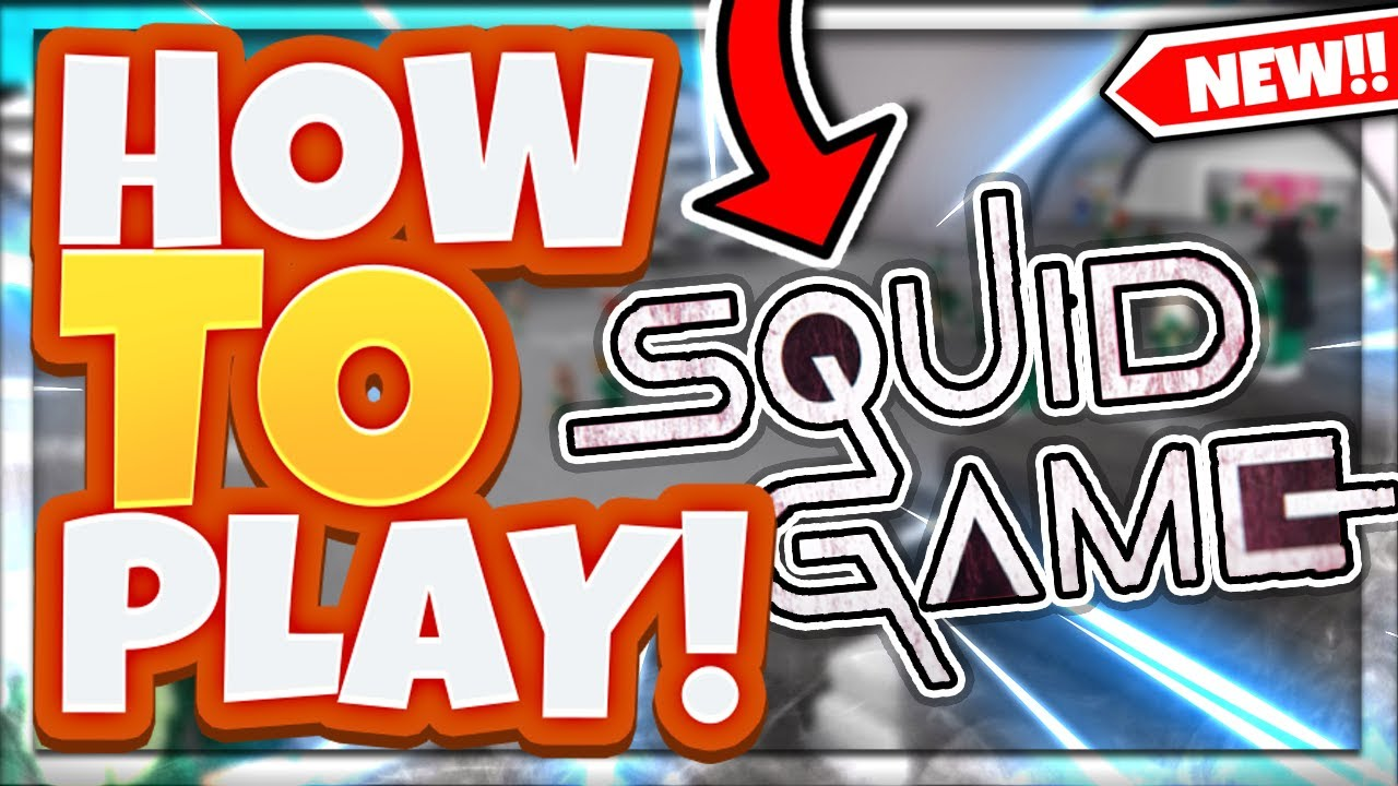 How To Start A Game In Roblox Squid Game How To Play Roblox Squid Game Youtube