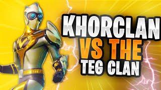 KhoR CLAN VS. TEG CLAN // *crazy fortnite battle* // TOP Fortnite*Clan*