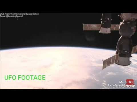 NASA CUTS FEED AS HUGE SHIP APPEARS THEN FLYS OFF. 9/3/2017