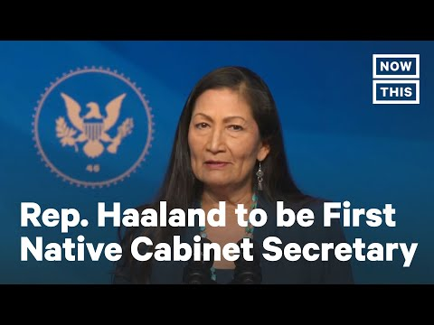 Rep. Deb Haaland Accepts Nomination for Secretary of the Interior | NowThis