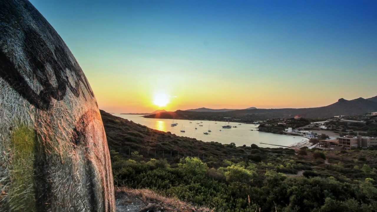 greek landscapes in motion timelapse
