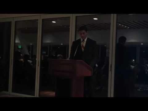 Nick Bell NCAA Speech