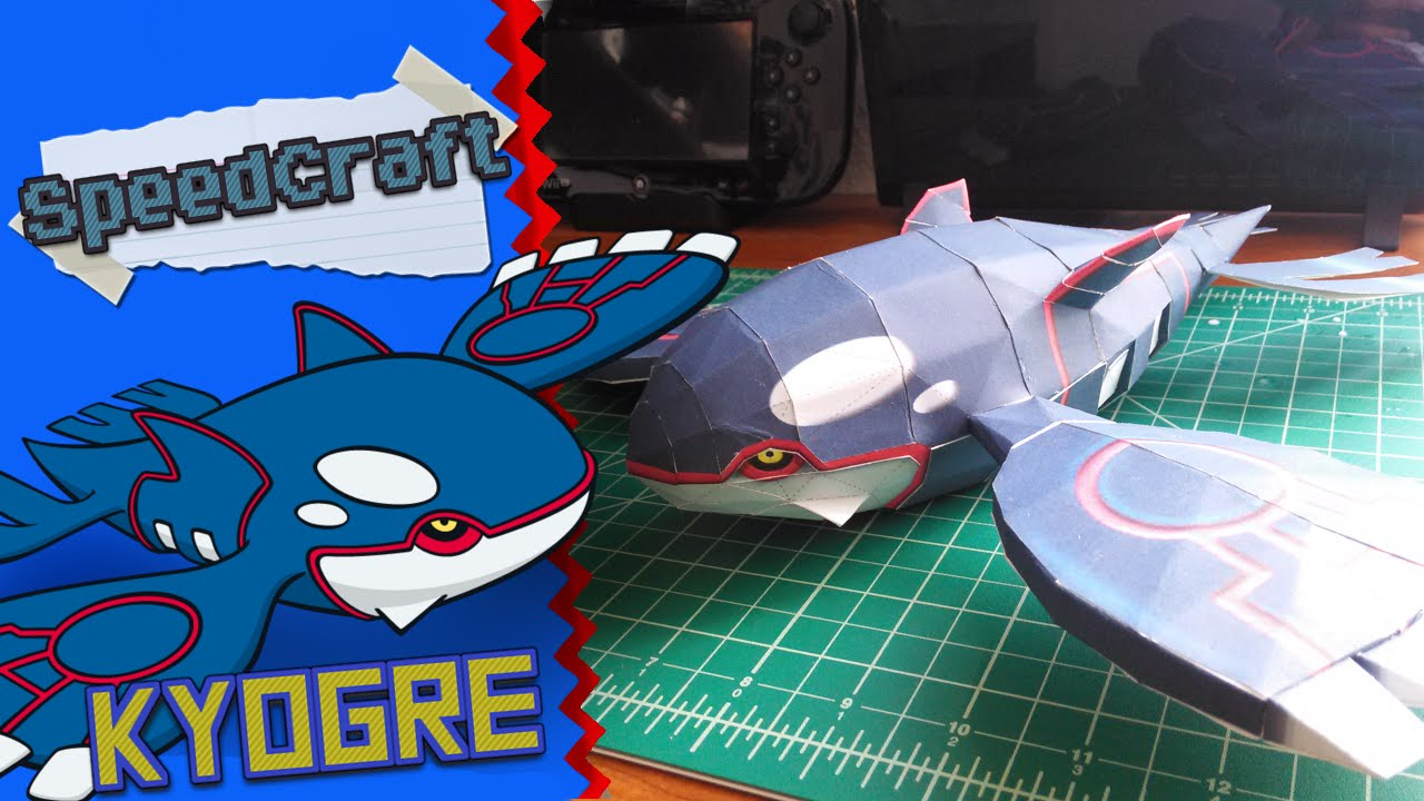 Papercraft Pokemon Papercraft ~Kyogre~