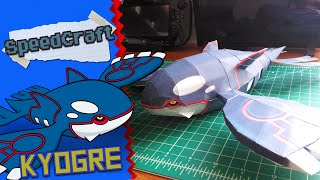 Pokemon Papercraft ~Kyogre~