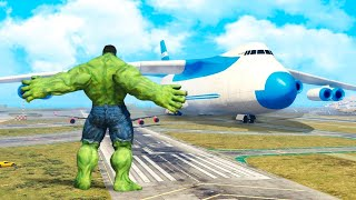 One of SpeirsTheAmazingHD's most viewed videos: GTA 5 Mods - Hulk vs Plane