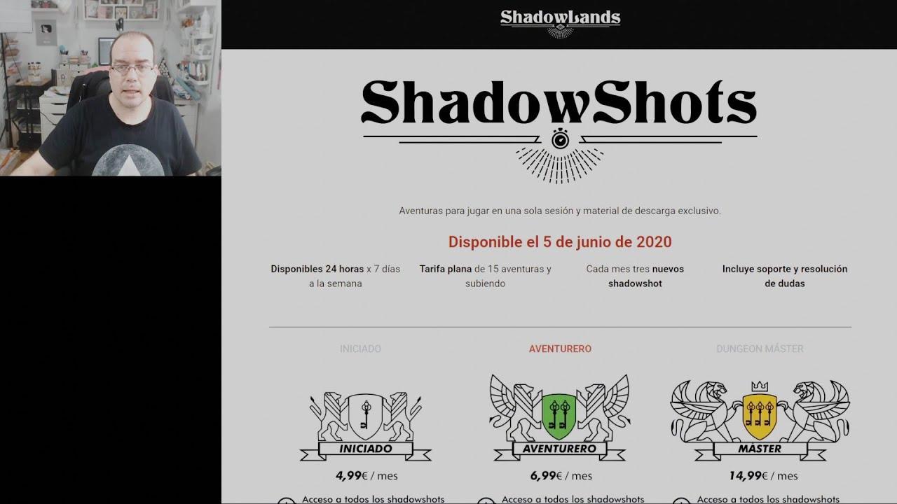 Resultado del Sorteo de Shadowshots | Tierras de Rol