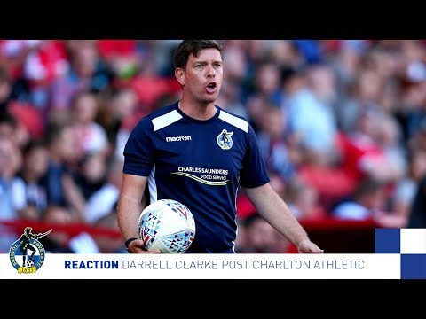 Reaction: Darrell Post Charlton Athletic