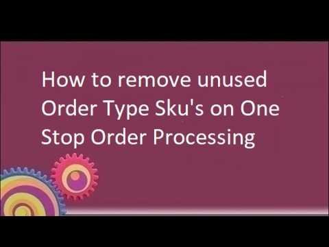 How to use the validate products feature in One Stop Order Processing