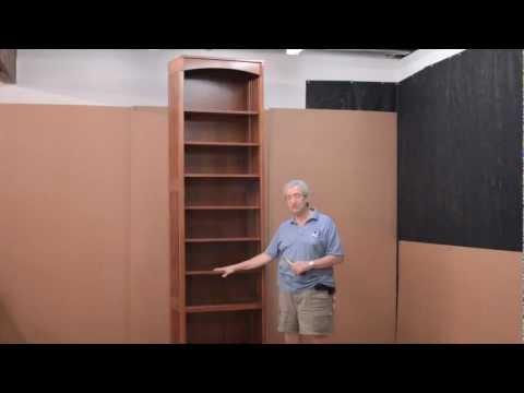 "Barn Furniture - Amish 108"" Tempe Bookcase"