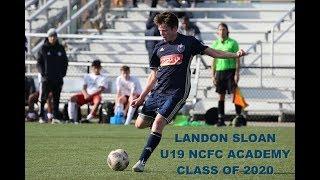 Landon Sloan NCFC Youth Academy vs Atlanta United FC November 10, 2018