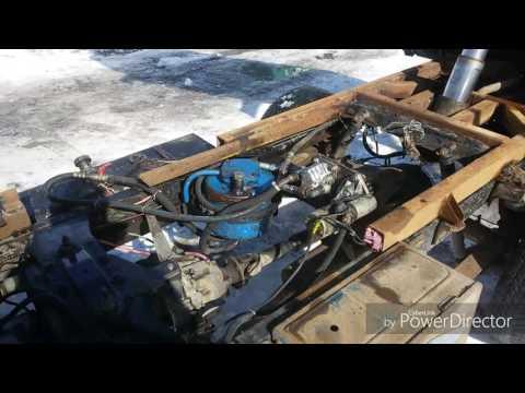Самосвал из Ниссан Атлас 4WD