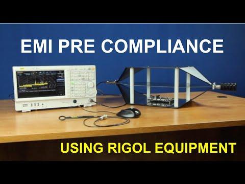 How To Perform EMI Pre Compliance Measurement Using Rigol Test Equipment
