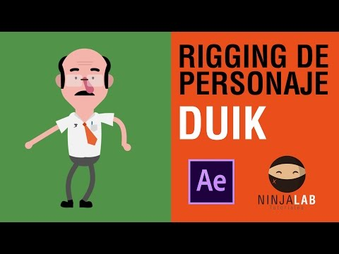RIGGING DE PERSONAJE CON DUIK / AFTER EFFECTS