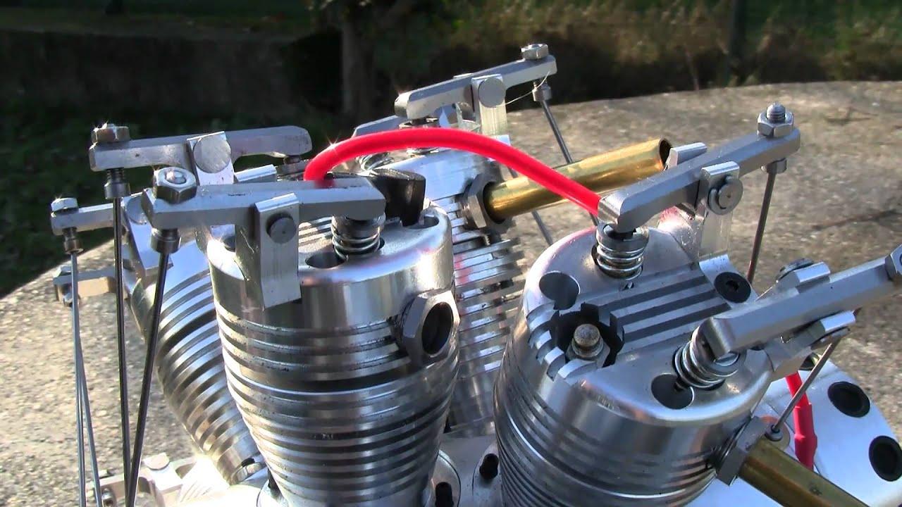 14 cilindri doppia stella - valvole
