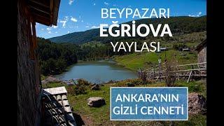 Beypazarı Eğriova Yaylası (Ankara'nın Gizli Cenneti) Nerededir? Nasıl Gidilir?