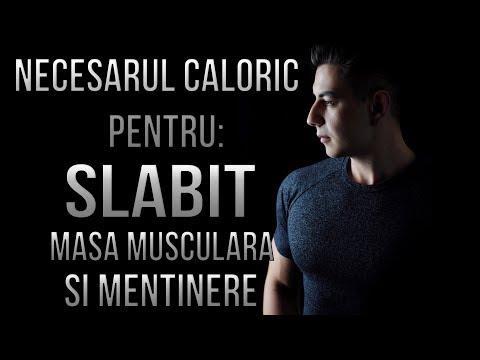 Afla cate calorii (kcal) iti trebuie pentru slabit / masa musculara / mentinut greutatea. Pas cu pas