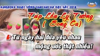 Karaoke Túp Lều Lý Tưởng(Song Ca) ll Nhạc Sống Đặc Sắc 2018 ll Lê Đại