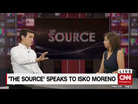'The Source' speaks to Social Welfare Undersecretary Isko Moreno