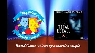 Total Recall: The Official Tabletop Game - Kickstarter Preview