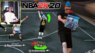 DONATING NBA 2K20 TO STREAMERS WHO CAN WIN.. NBA 2K19 MY PARK