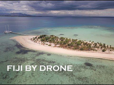 Fiji by Drone - Tivua island Denarau island Nadi