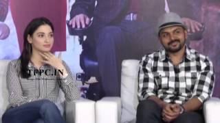Oopiri Team Funny Interview   Nagarjuna, Tamannaah, Karthi   TFPC