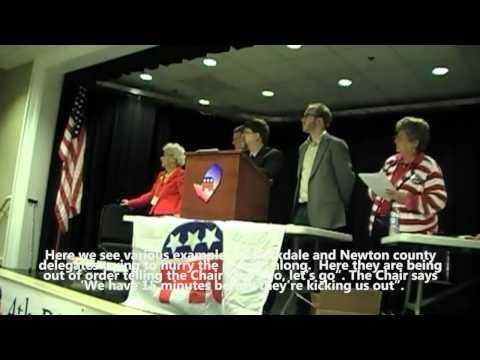 Georgia Republican 4th Congressional District Convention Delegate Fraud 4/14/12