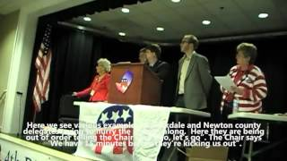 Georgia Republican 4th Congressional District Convention Delegate Fraud 4/14/12