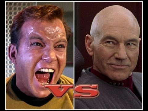 Capt Kirk v Capt Picard New Star Trek Video