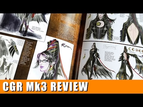 Classic Game Room - THE EYES OF BAYONETTA Art Book review