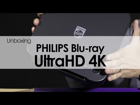 Philips Blu-Ray Ultra HD 4K: Unboxing y primeras impresiones