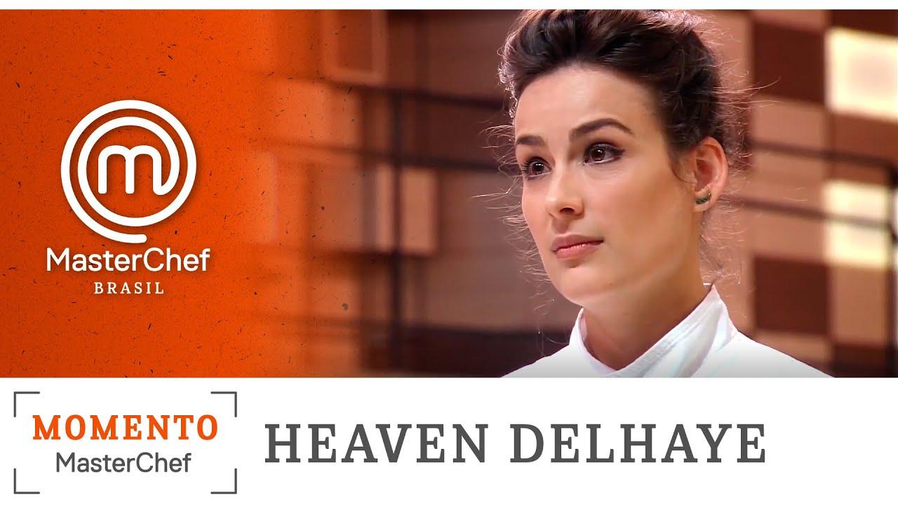 MOMENTO MASTERCHEF com Heaven Delhaye