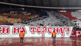Delije - Koreografija: GLADIJATOR | Crvena zvezda - CSKA Moskva 0:0