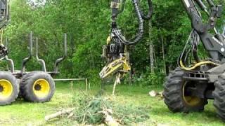 Star Trek w Niedalinie- pokaz maszyn leśnych