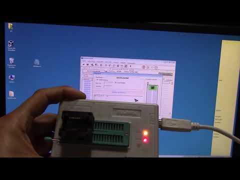 PROGRAMACION BIOS LAPTOPS DELL(metodo de extraccion 2)