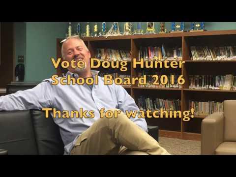Elect Doug Hunter  Covington Community School Board 2016