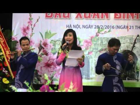 Người được ngợi ca là ngâm thơ hay nhất Việt Nam thể hiện bài Quê ngoại