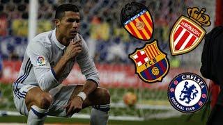 Top 8   Clubes que intentaron fichar a Cristiano Ronaldo