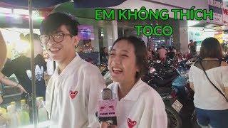 Phỏng Vấn Troll - Bạn Nghĩ Gì Về Trà Sữa Nện - TocoToco - Tại Vincom