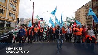 Palermo, la rabbia dei lavoratori del passante ferroviario a un passo dal licenziamento
