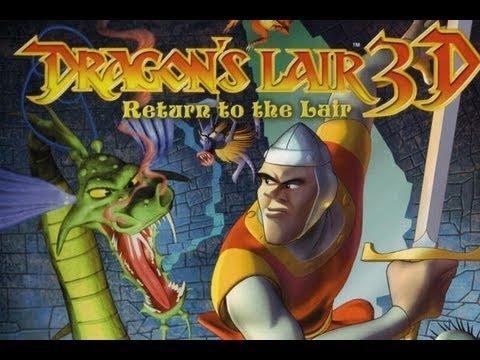 Dragon's Lair 3D - Entrée du Chateau