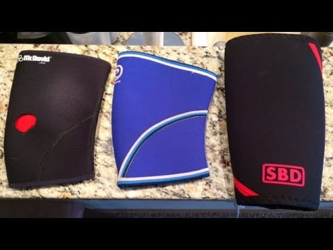 8a5801a926 Knee Sleeves SBD vs Rehband - YouTube