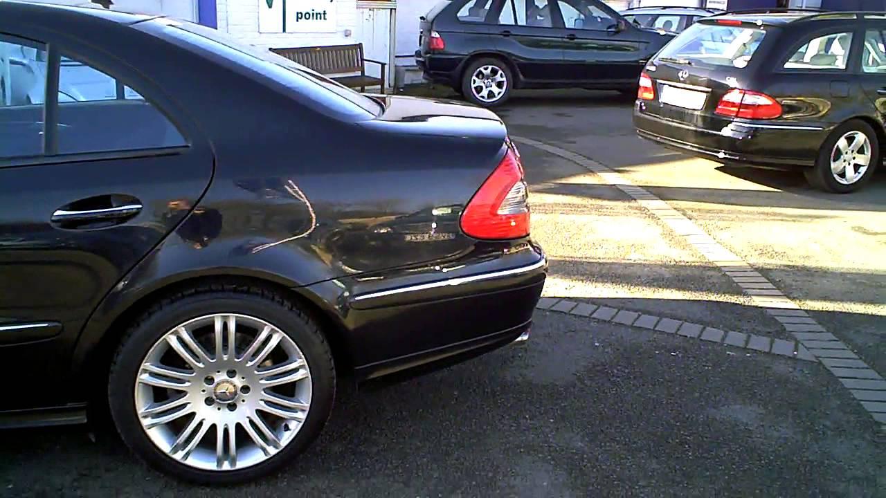 2009 mercedes e320 cdi sport saloon auto diesel black for Mercedes benz e 320 cdi