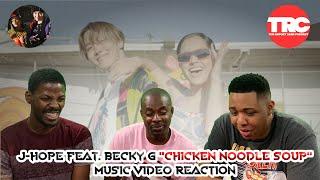 J Hope feat Becky GChicken Noodle SoupMusic Reaction