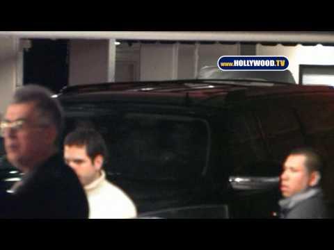 Lady GaGa Leaves Nightclub In Beverly Hills